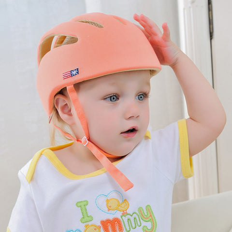 Image of Baby Safety Helmet Orange