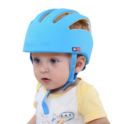 Image of Baby Safety Helmet Blue