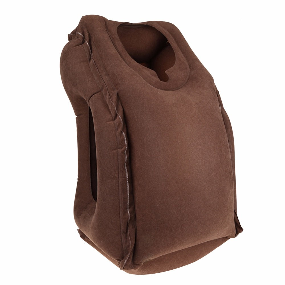 Travel Pillow Brown