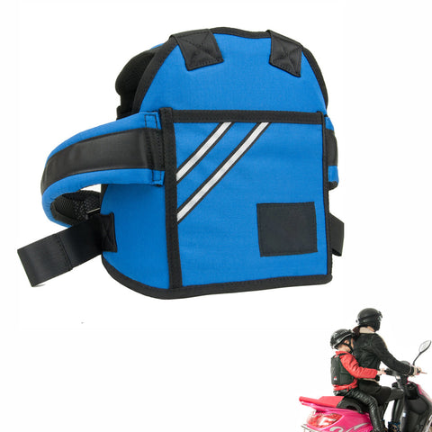 Kid's Motorcycle Safety Belt Blue