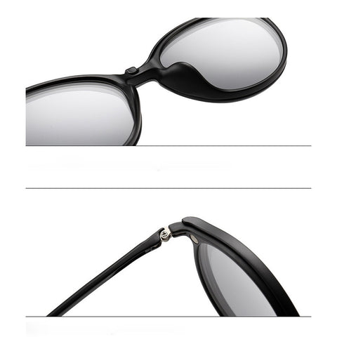 89e69f5068 Magnetic Clip On Sunglasses Snap-On Polarized Sunglasses – FavDealz ...