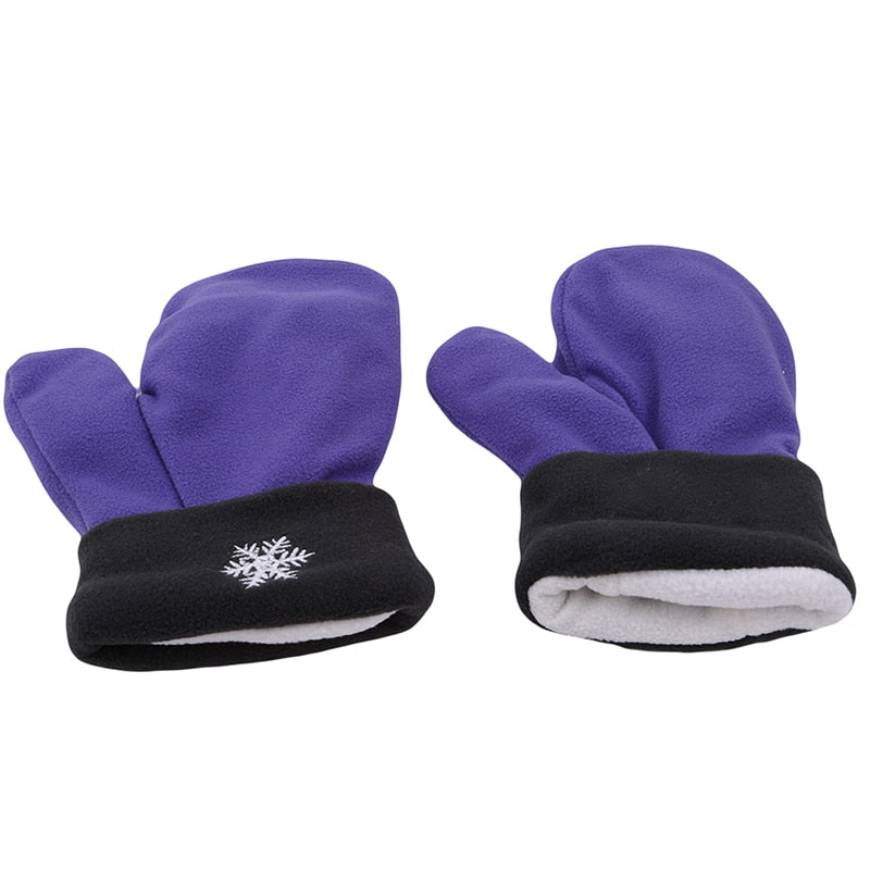 Couples Gloves Purple