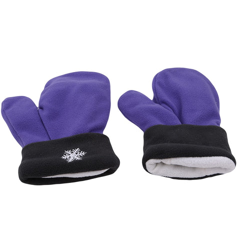 Image of Couples Gloves Purple