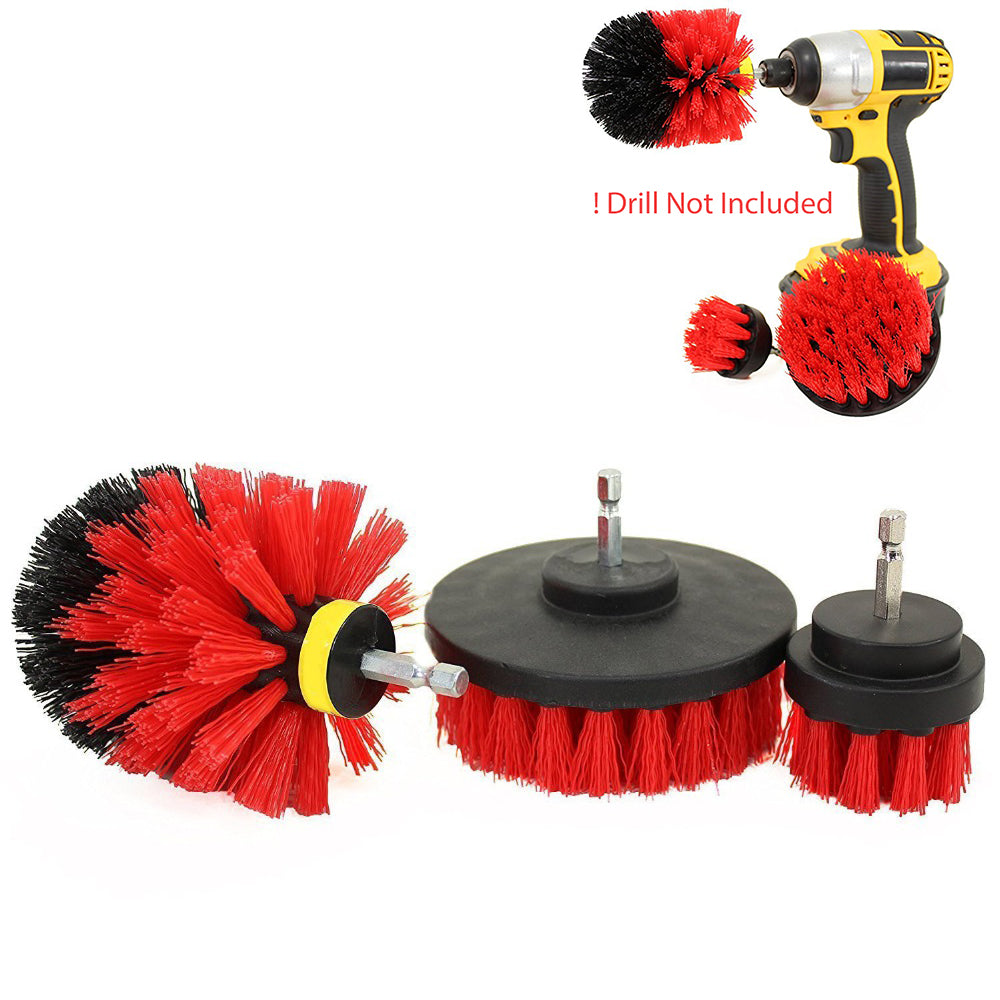 Power Scrub Brush Red