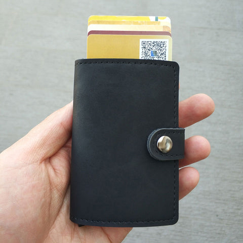 Image of Card Holder Wallet Black