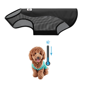 Dog Cooling Vest black / XS
