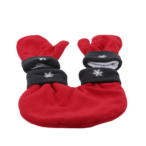Image of Couples Gloves Red