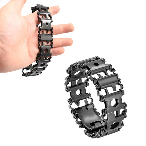 Wearable Multitool Bracelet black