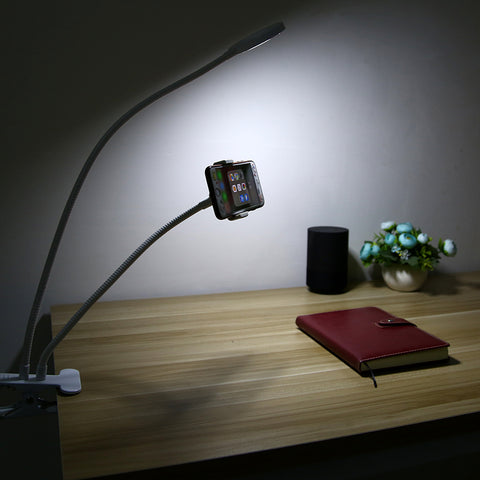 Image of Phone Holder with Selfie Ring Light