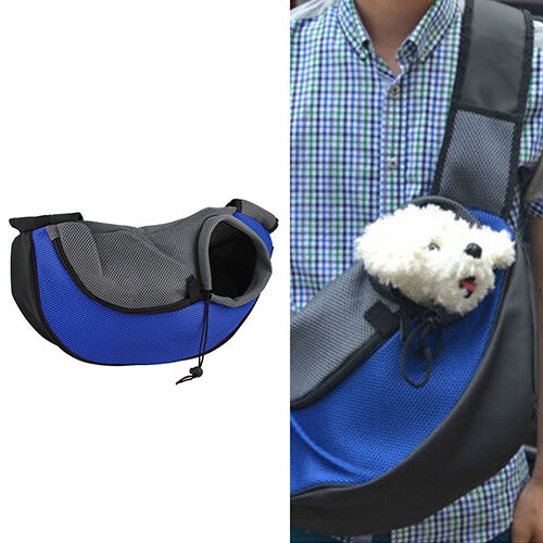 Pet Sling Carrier Blue / L