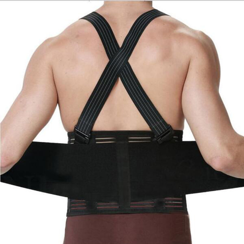 Lumbar Back Brace With Suspender