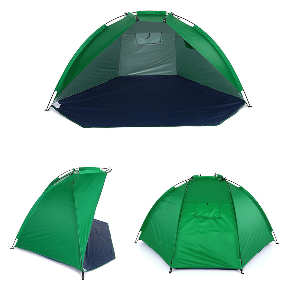 Portable Beach Tent Green