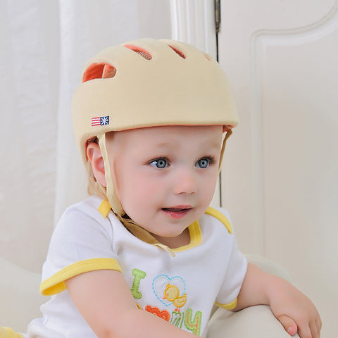 Image of Baby Safety Helmet Beige