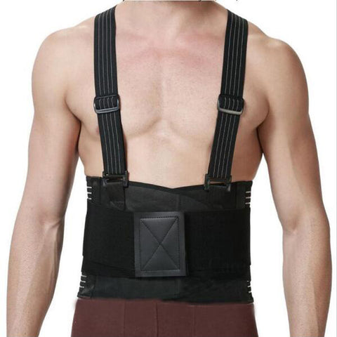 Image of Lumbar Back Brace With Suspender