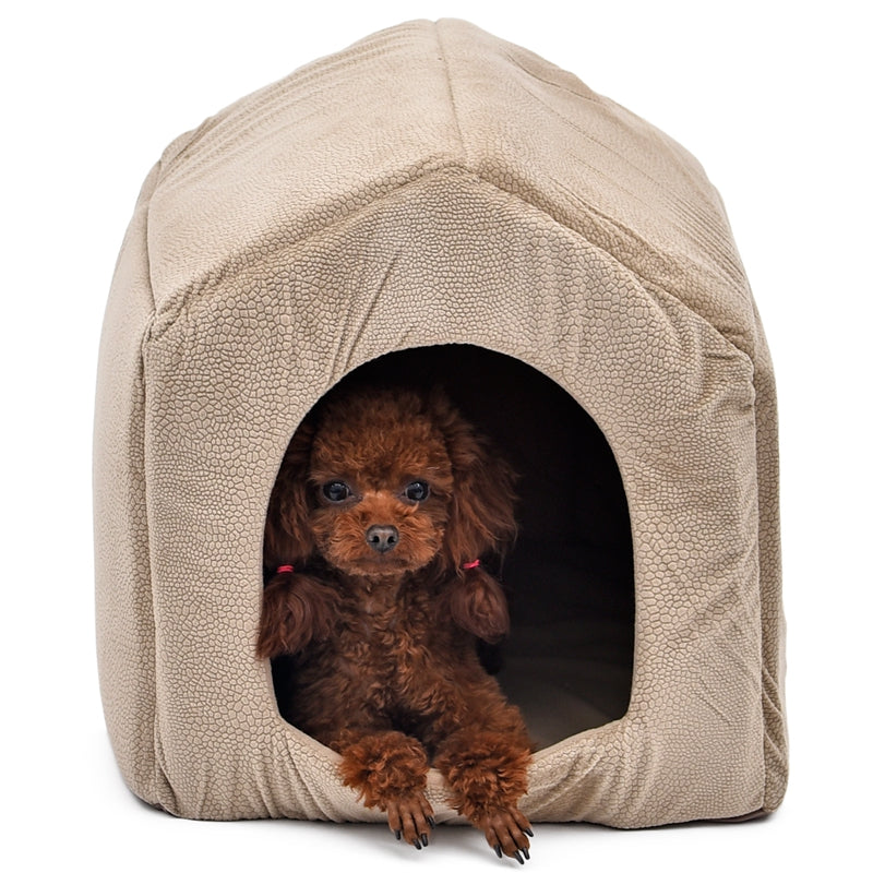 Luxury Dog House Cozy Dog Bed Kennel