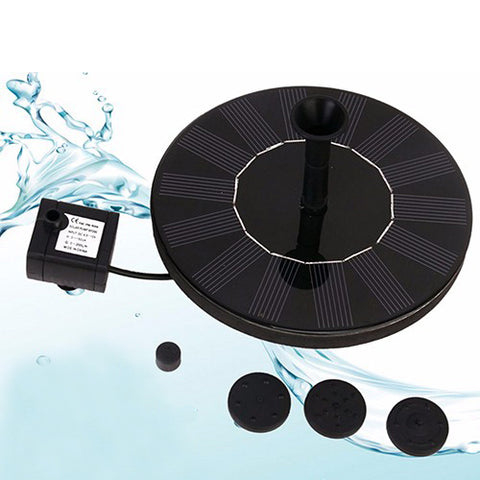 Image of Floating Solar Fountain