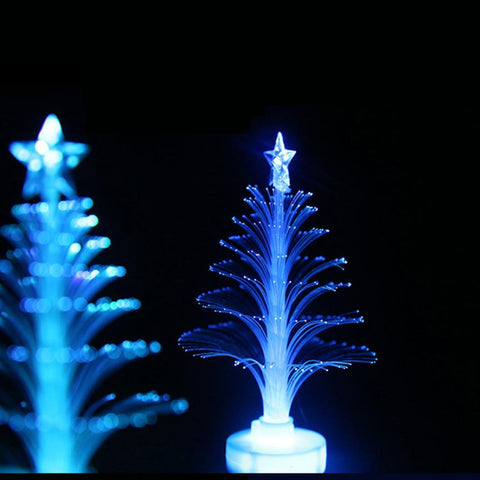 Image of Color Changing Mini Xmas Tree