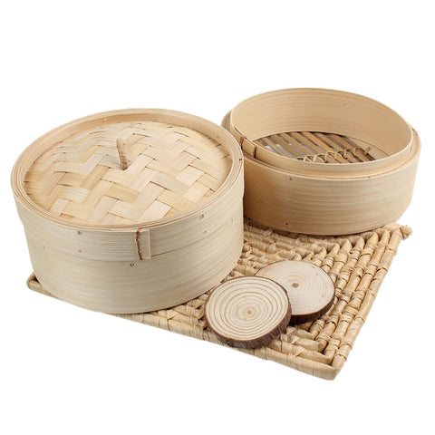 Image of Bamboo Steamer Basket