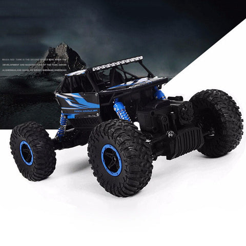 Image of 4x4 RC Rock Crawler blue