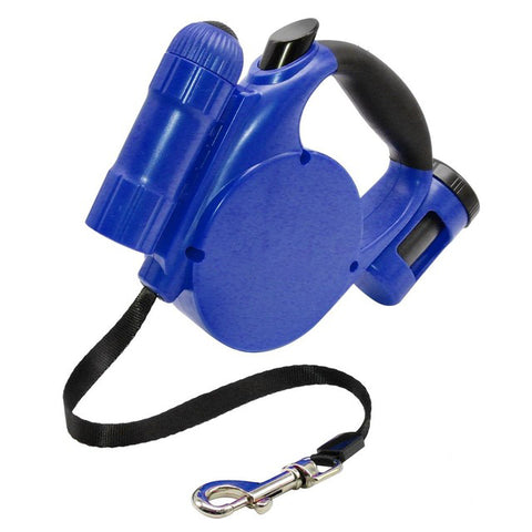Image of Multifunction Pet Leash Blue