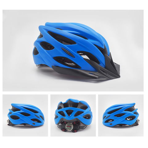 Image of Bicycle Helmet blue