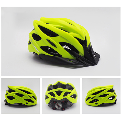 Image of Bicycle Helmet yellow