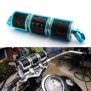 Bluetooth Handlebar Speaker Blue