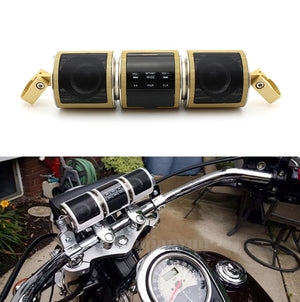 Bluetooth Handlebar Speaker Gold