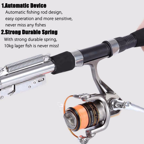 Automatic Fishing Rod