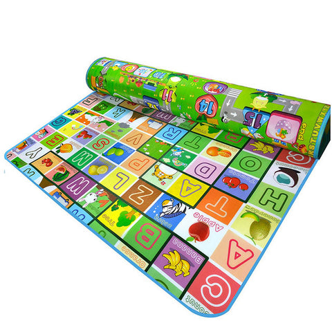 Baby Crawling PlayMat letter and richman / 180cmX150cmX5mm
