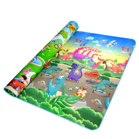 Baby Crawling PlayMat animal car dinosaur / 180cmX150cmX5mm