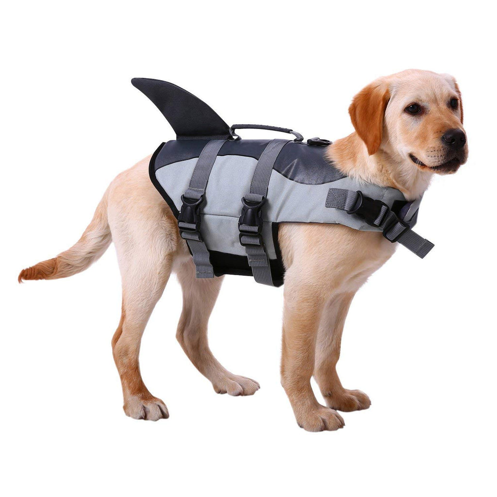 Shark Style Dog Life Jacket S