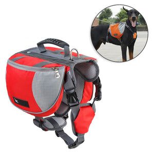 Dog Backpack Harness