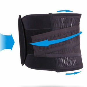 Waist Trainer Belt Black / XXL