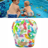Waterproof Swimming Baby Diaper diaper-2 / One Size Adjustable