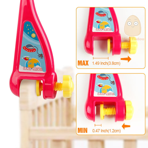 Musical Mobile Crib Toy with Remote