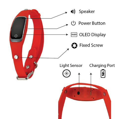Image of Smart Gps Dog Collar – Real-time Tracking – Android & Iphone Apps