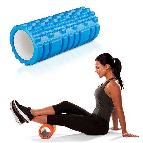 Yoga Massage Roller Blue