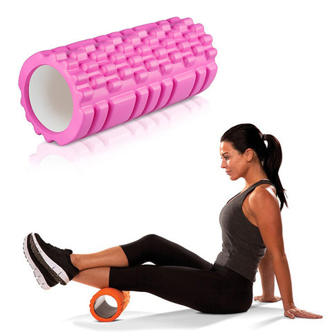 Yoga Massage Roller Pink