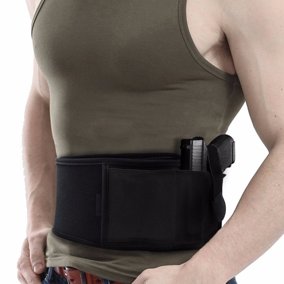 Belly Band Holster for left hand