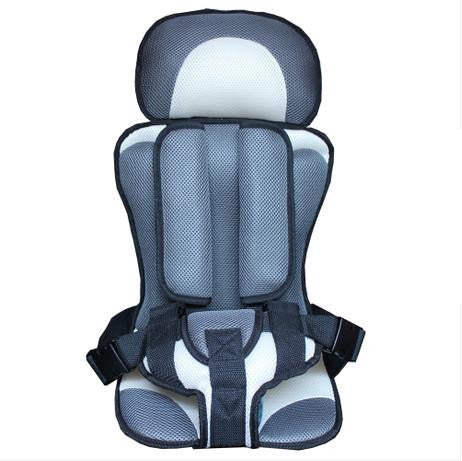 Image of Baby Car Seat Safety Belt Gray