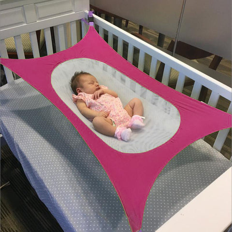 Image of Baby Crib Hammock DeepPink