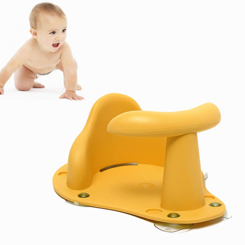 Image of Baby Bath Seat Yellow