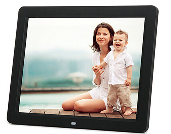 "10"" Digital Photo Frame Black / US Plug"