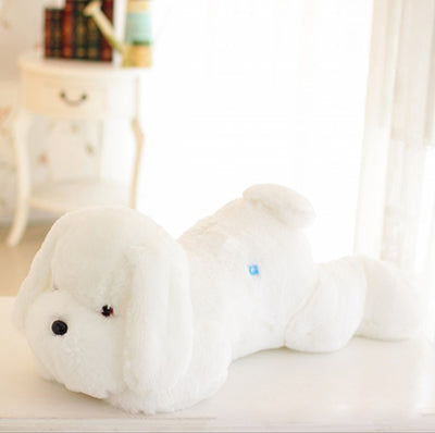 Image of Cute Luminous Puppy White