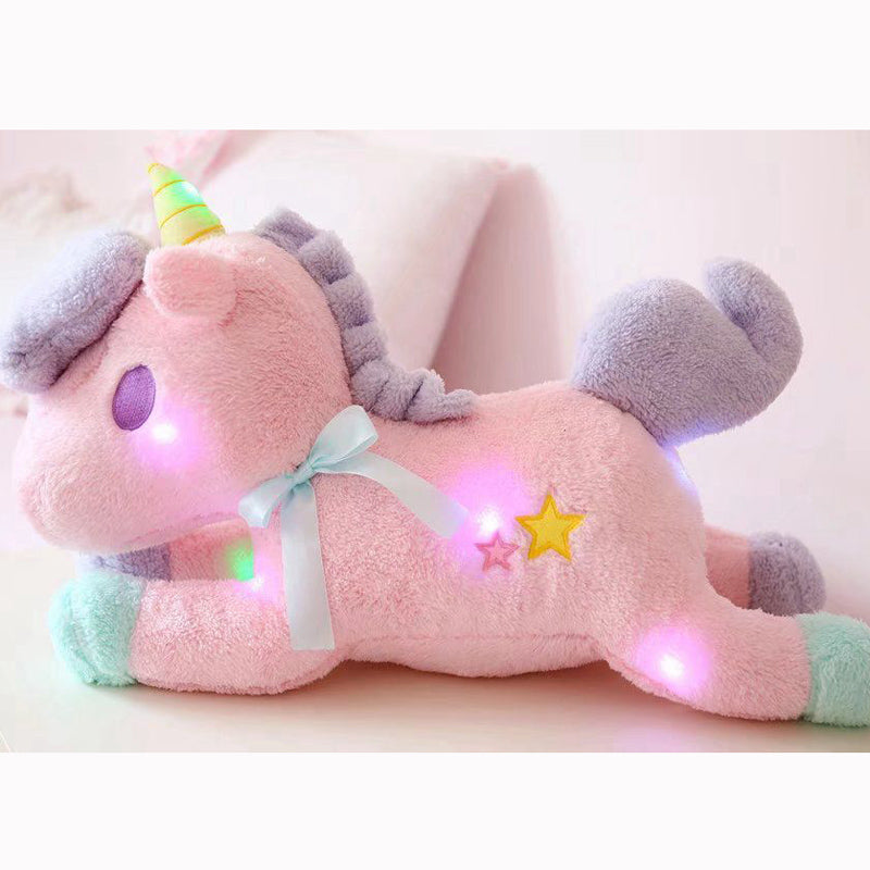 Luminous Unicorn Plushie Normal/Pink