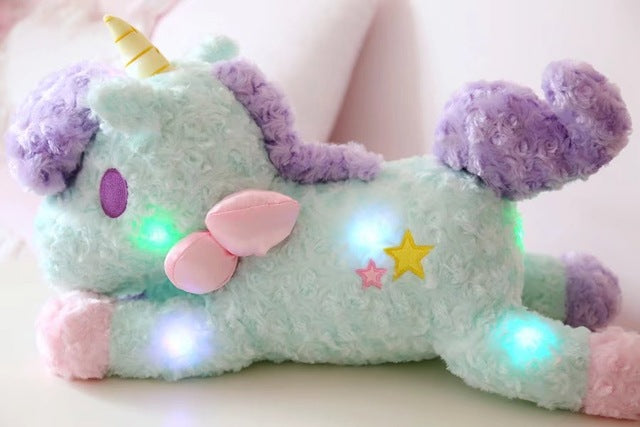 Luminous Unicorn Plushie Floppy/Pest