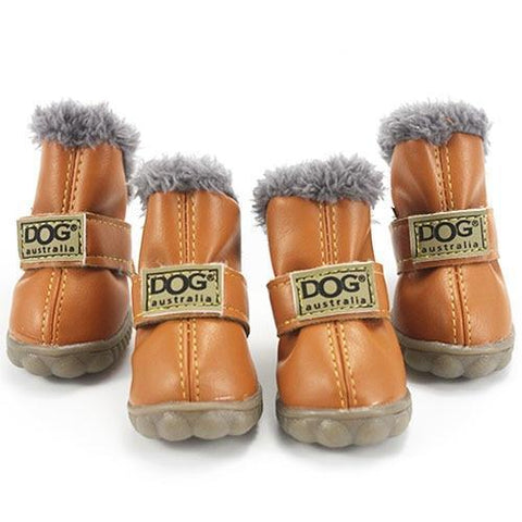Dog Shoes for Winter Peru / L