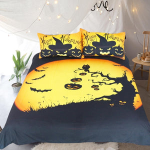 Halloween Bedding Set USA Twin