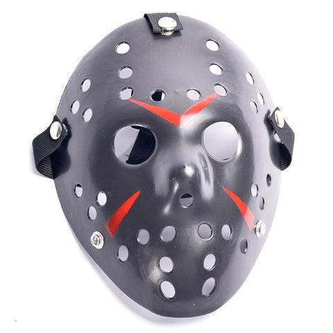 Jason Voorhees Halloween Mask Black
